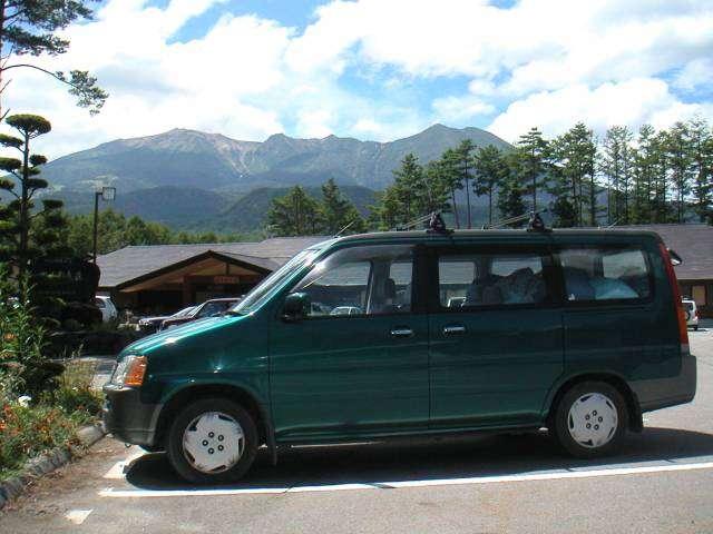 開田高原から見た御嶽山